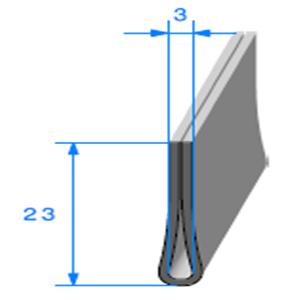 Compact en U <br /> Ref 130A <br /> Vendu au Mètre<br />