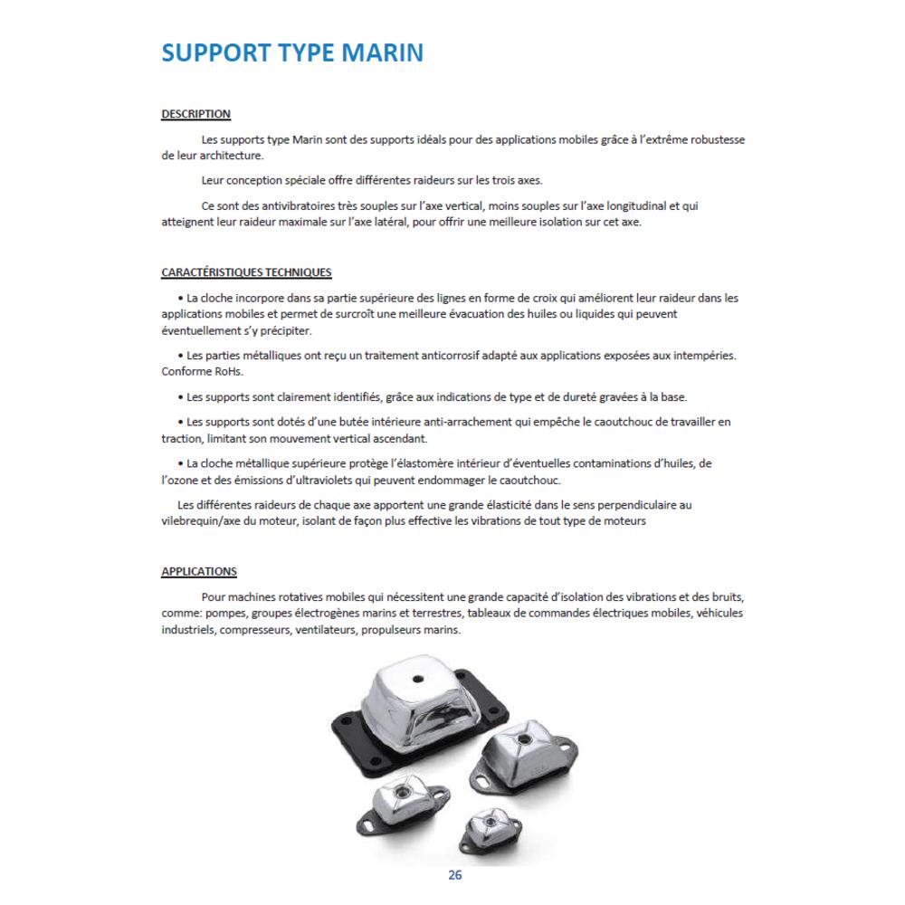 Support Marin MOYEN