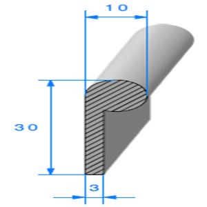 Note de Musique Cellulaire   [10 x 30 mm]   Vendu au Mètre