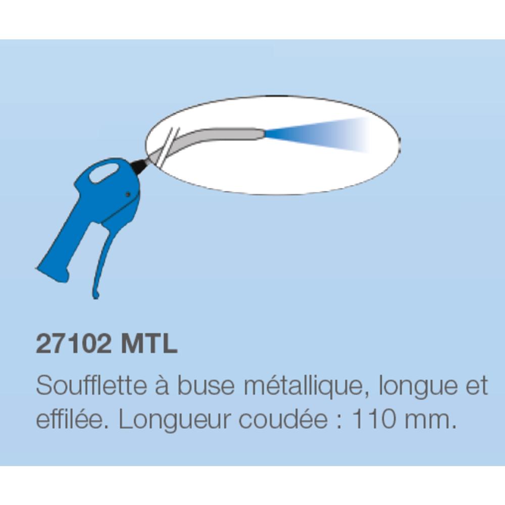 Soufflette Buse Métallique