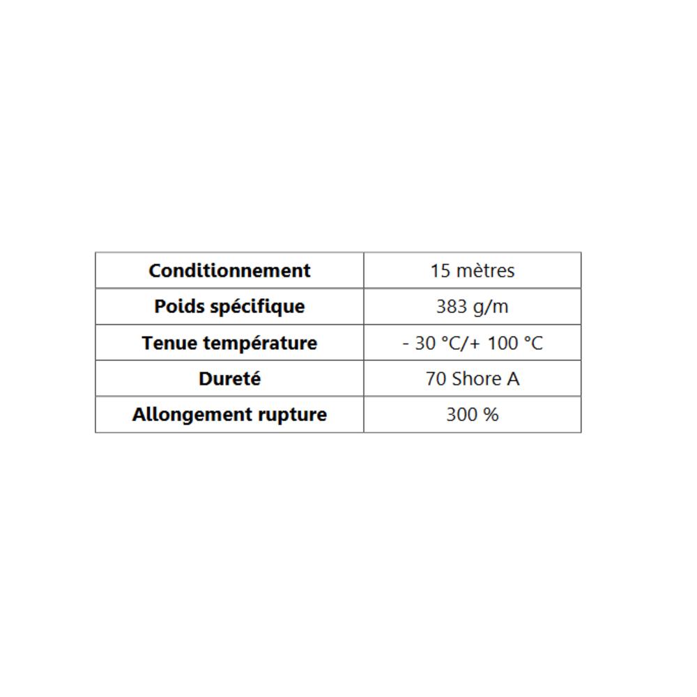Compact Bourrelet   Ref 284   Vendu au Mètre