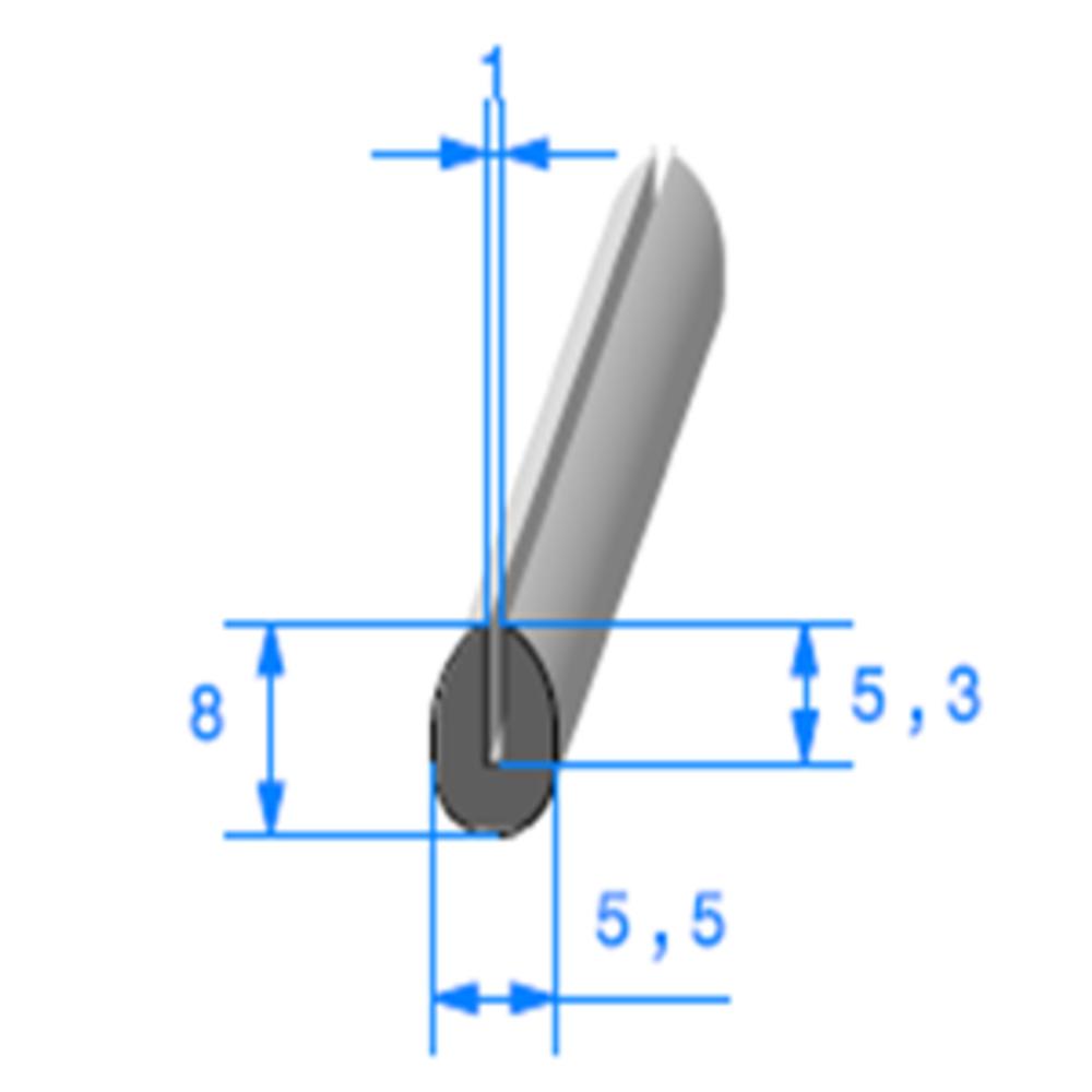Compact en U   Ref 324   Vendu au Mètre