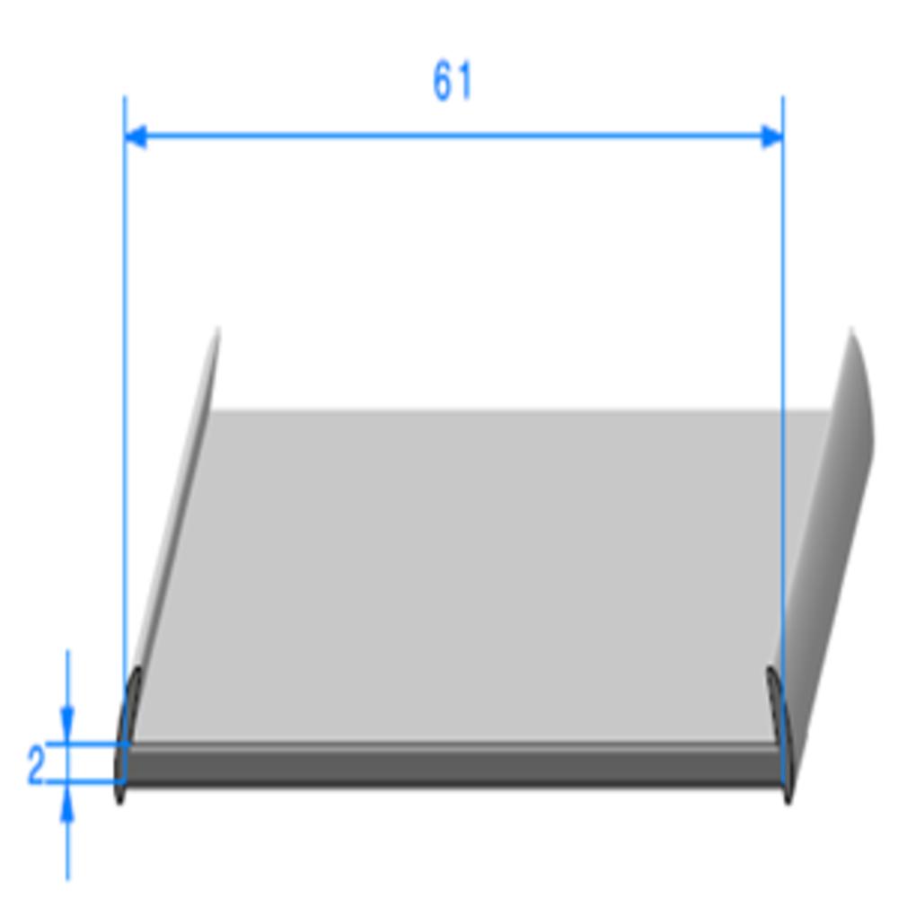 Profil Semelle   Réf 329   Vendu au Mètre