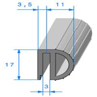 Isotherme   [14.5 x 17 mm]   Vendu au Mètre