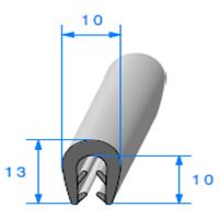 Pince EPDM Bi-Dureté   [pour EP 2.5 à 3.5 mm]   Vendu au Mètre