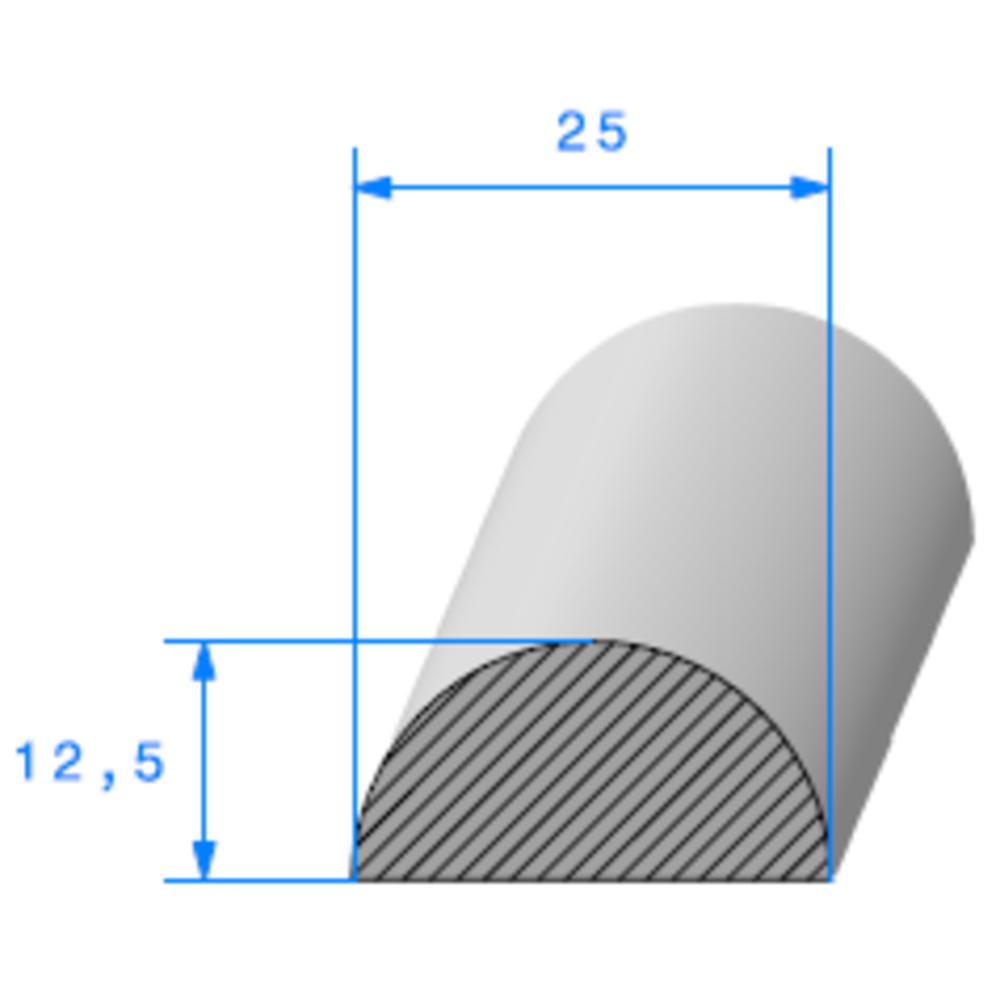1/2 Rond Cellulaire   Ref 058   Vendu au Mètre