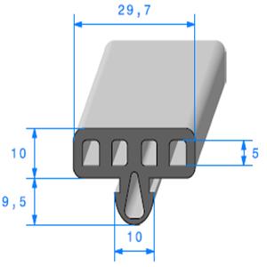 Protection Glace Alvéolé   [29.7 x 19.5 mm]   Vendu au Mètre