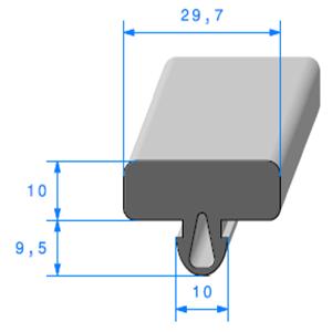 Protection Glace   [29.7 x 19.5 mm]   Vendu au Mètre