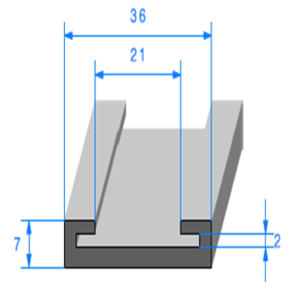 Profil Semelle   Ref 703   Vendu au Mètre