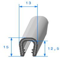 Pince PVC Armé   [pour EP 5 à 6 mm]   Vendu au Mètre