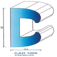 CAD1006N Profil EPDM   65 SH Noir