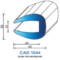 CAD1044B Profil EPDM   70 SH Blanc