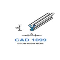 CAD1099N Profil EPDM   65 SH Noir