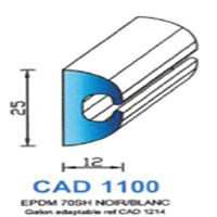 CAD1100N Profil EPDM   70 SH Noir