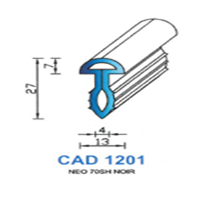 CAD1201N Profil NEO   70 SH Noir