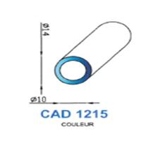 CAD1215N Profil EPDM   70 SH Noir
