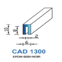 CAD1300N Profil EPDM   65 SH Noir