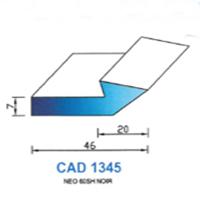 CAD1345N Profil NEO   60 SH Noir