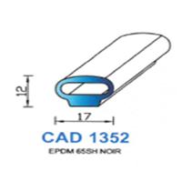 CAD1352N Profil EPDM   65 SH Noir