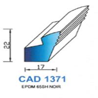 CAD1371N Profil NBR   65 SH Noir