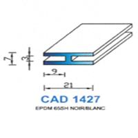CAD1427N Profil EPDM   65 SH Noir