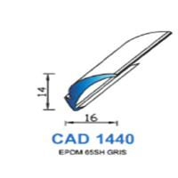 CAD1440G Profil EPDM   65 SH Gris