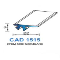 CAD1515G Profil EPDM   65 SH Gris