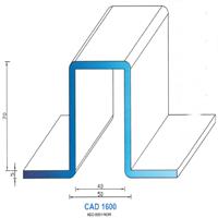 CAD1600N Profil NEO   60 SH Noir