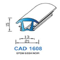 CAD1608N Profil EPDM   65 SH Noir