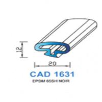 CAD1631N Profil EPDM   65 SH Noir