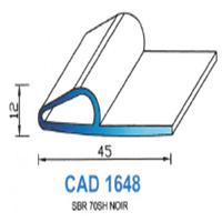 CAD1648N Profil SBR   70 SH Noir