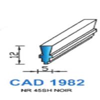 CAD1982N Profil NBR   45 SH Noir
