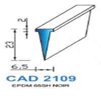 CAD2109N Profil EPDM   65 SH Noir