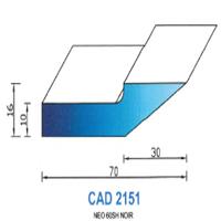 CAD2151N Profil NEO   60 SH Noir