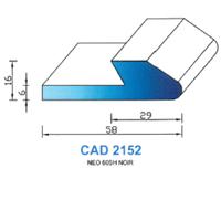 CAD2152N Profil NEO   60 SH Noir
