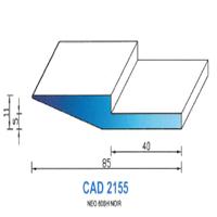 CAD2155N Profil NEO   60 SH Noir   Vendu au Mètre