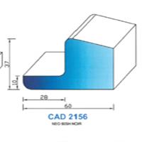 CAD2156N Profil NEO   60 SH Noir