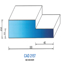 CAD2157N Profil NEO   85 SH Noir