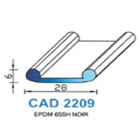 CAD2209N Profil EPDM   65 SH Noir