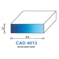 CAD4013N Profil EPDM   65 SH Noir