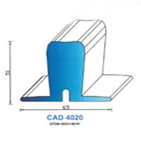 CAD4020N Profil EPDM   65 SH Noir