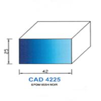 CAD4225N Profil EPDM   65 SH Noir