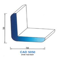 CAD5050N Profil EPDM <br /> 70 SH Noir<br />