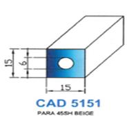 CAD5151N Profil PARA   45 SH Beige