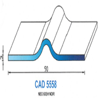 CAD5558N Profil NEO   60 SH Noir