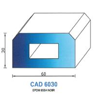 CAD6030N Profil EPDM   65 SH Noir