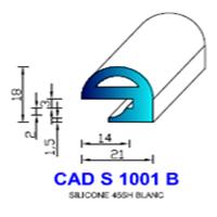 CADS1001B Silicone Compact   45 SH Blanc