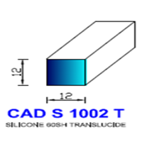 CADS1002T Silicone Compact   60 SH Translucide
