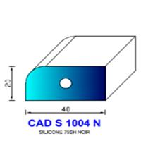 CADS1004N Silicone Compact   75 SH Noir