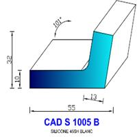 CADS1005B Silicone Compact <br /> 45 SH Blanc<br />